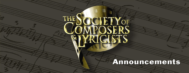The Society of Composers and Lyricists Seminar: From Canada to LA: SOCAN All-Star Composers